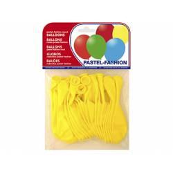 Globos Pastel Amarillo Bolsa de 20 unidades