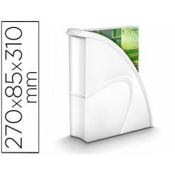 Revistero de plástico CEP Blanco 85X270X310 mm