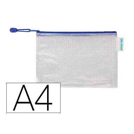 Bolsa multiusos A4 plastico impermeable y ultrarresistente