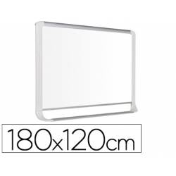 Pizarra Blanca Lacada Magnetica con marco de aluminio 180x120 Bi-Office