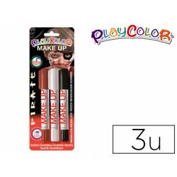 Barra de maquillaje Playcolor Pirata 3 unidades