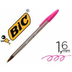 Boligrafo Bic Cristal Fun 1,6 mm Color Rosa