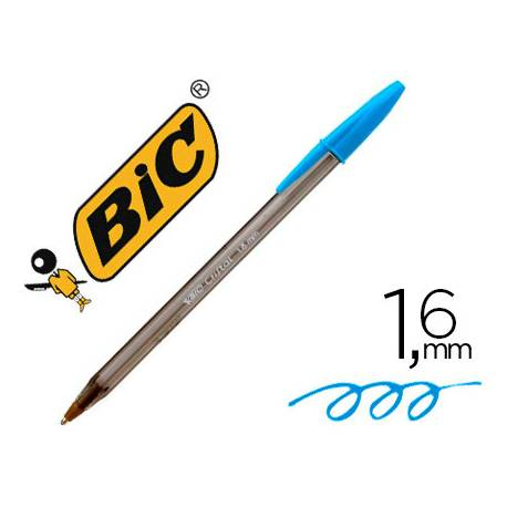Boligrafo Bic Cristal Fun 1,6 mm Color Turquesa