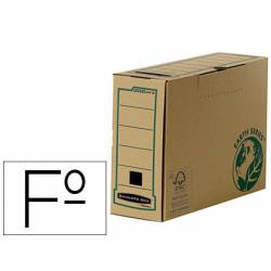 Caja Archivo Definitivo Fellowes Carton Reciclado Folio 100 mm