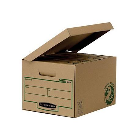 Cajon Fellowes carton Reciclado capacidad 4 cajas archivo 80 mm