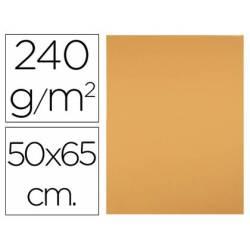 Cartulina Liderpapel Avellana de 50x65 cm 240 gr