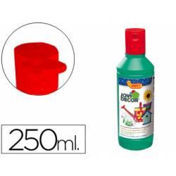 Pintura multiuso Jovidecor 250 ml color verde medio