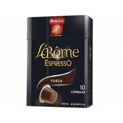 Cafe L´Arome Espresso forza Marcilla Capsulas