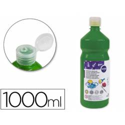 Tempera Liderpapel color verde oscuro 1000 cc