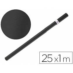 Bobina papel tipo kraft Liderpapel 25 x 1 m negro