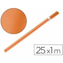 Bobina papel tipo kraft Liderpapel 25 x 1 m naranja