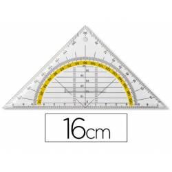 Escuadra marca Liderpapel geometria con agarradera fija