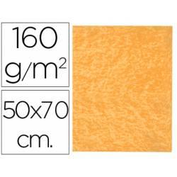 Fieltro Liderpapel 50x70cm color naranja