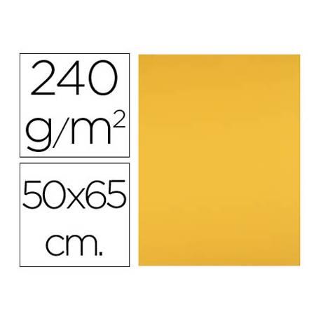 Cartulina Liderpapel 240 g/m2 color oro viejo
