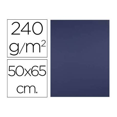 Cartulina Liderpapel 240 g/m2 azul zafiro