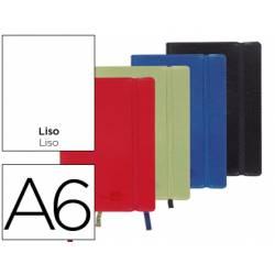 Libreta Liderpapel encolada liso Din A6 120 hojas