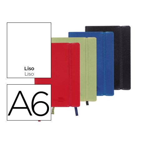 Libreta marca Liderpapel encolada liso Din A6