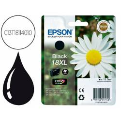 Cartucho Epson C13T18114010 color negro. Epson 18 black