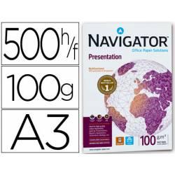 Papel fotocopiadora Navigator A3 100 gr