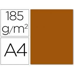 Cartulina Guarro din A4 cuero 185 gr paquete 50 hojas