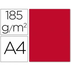 Cartulina Guarro rojo