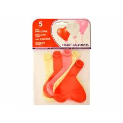 Globos hinchables forma de corazón