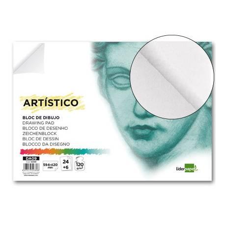 Bloc dibujo artistico marca Liderpapel tamaño DIN A2