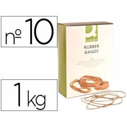 Gomillas elasticas Q-connect 1000 gr numero 10
