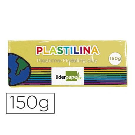Plastilina Liderpapel color amarillo claro mediana