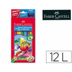 Lapices de colores Faber Castell acuarelables
