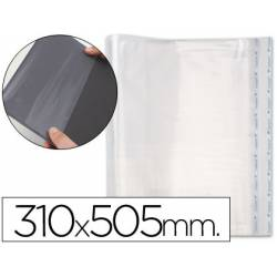 Forralibro polipropileno ajustable adhesivo medidas 310 x 505 mm