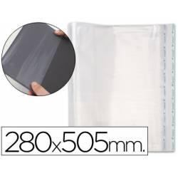 Forralibro PP ajustable adhesivo medidas 280 x 505 mm