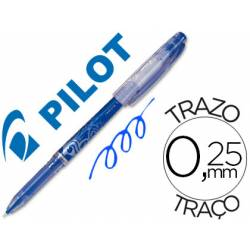 Boligrafo Borrable Pilot Frixion 0,25 mm Punta de aguja Color Azul
