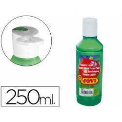 Tempera liquida JOVI color verde oscuro 250 cc