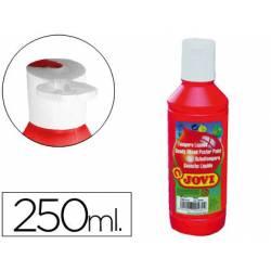 Tempera liquida Jovi color bermellon 250 cc
