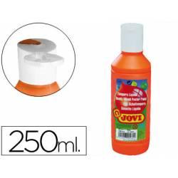 Tempera liquida Jovi color naranja 250 cc