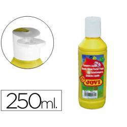 Tempera liquida Jovi color amarillo 250 cc