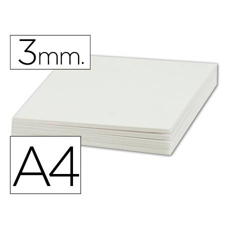 Carton pluma Liderpapel doble cara blanco Din A4 Espesor 3 mm