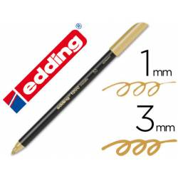 Rotulador Edding 1200 oro nº 53