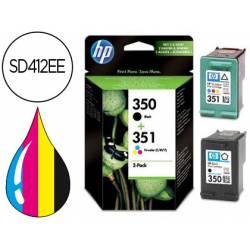 Cartucho HP combo 350 y 351 SD412EE