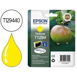 Cartucho de tinta epson stylus T1294 amarillo XL