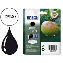 Cartucho de tinta epson stylus T1291 negro XL