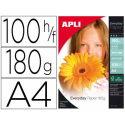 Papel foto Apli Glossy 180 g/m2