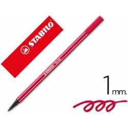 Rotulador Stabilo 68/50 rojo oscuro 1 mm