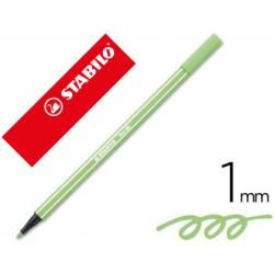 Rotulador Stabilo 68/13 Verde hielo 1 mm