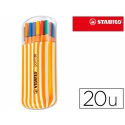 Rotuladores Stabilo point 88 Estuche de 20 unidades