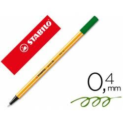 Rotulador marca Stabilo point 88/63