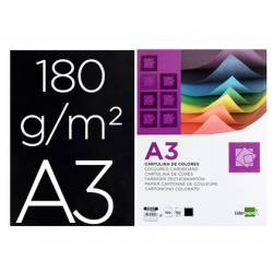 Cartulina Liderpapel color negro a3 180 g/m2