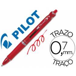 Boligrafo Pilot Acroball Rojo 0,7 mm