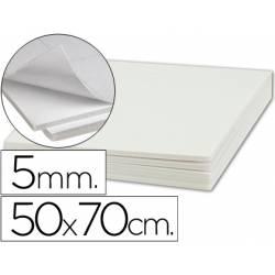 Carton pluma Liderpapel adhesivo 50 x 70 cm Espesor 5 mm